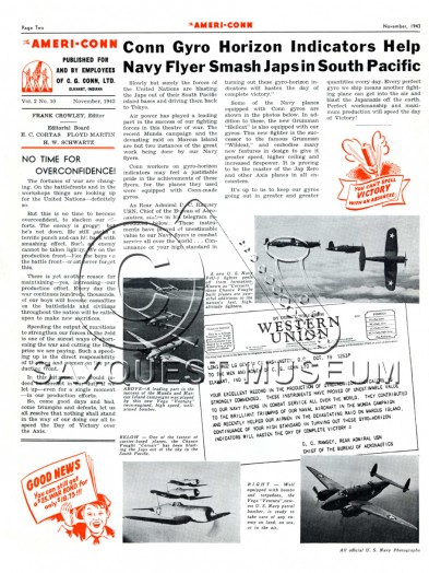 The Ameri-Conn Vol 2, No. 10 November, 1943