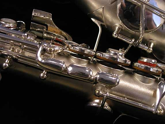 "Conn ""New Wonder"" Silver Plate Curved Soprano - 70327 - Photo # 14"
