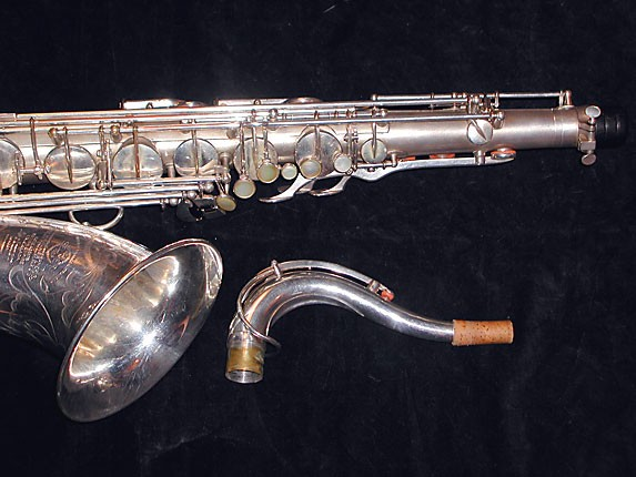 Selmer Matte Silver Super Balanced Action Tenor - 38812 - Photo # 3