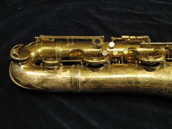 Selmer Lacquer Mark VI Baritone - 118366 - Photo # 3