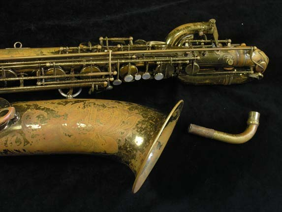 "Selmer Lacquer Mark VI ""Low A"" Baritone - 81129 - Photo # 4"