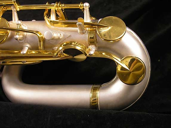 King Custom Silver & Gold Plate Zephyr Baritone - 179421 - Photo # 7