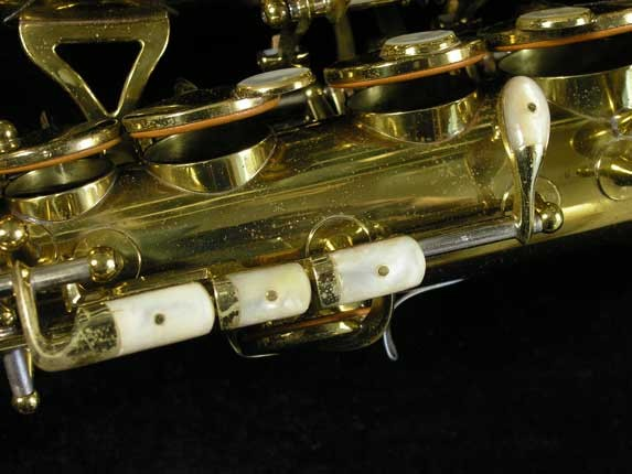 King Lacquer-Sterling Neck Super 20 Alto - 283230 - Photo # 16