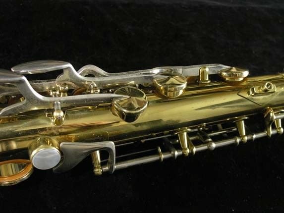 King Lacquer-Sterling Neck Super 20 Tenor - 433254 - Photo # 9