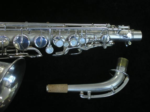 Buescher Silver Plate New Aristocrat Alto - 263859 - Photo # 3
