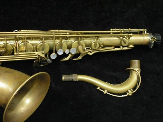 Yamaha Unlacquered Custom YTS-82Z - 24055 - Photo # 3
