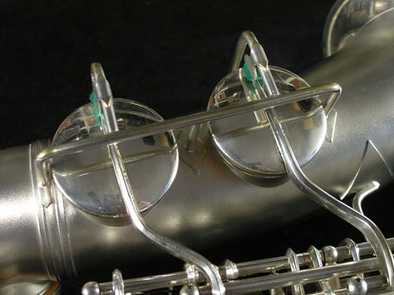 Conn Silver Plate Transitional 6M Alto - 257986 - Photo # 16