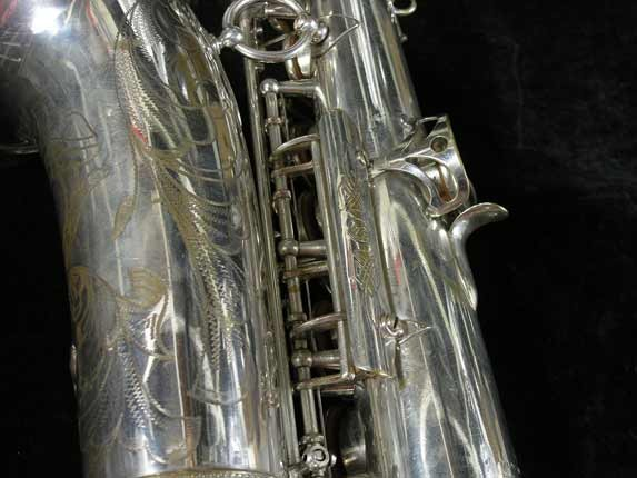 Selmer Silver Super Balanced Action Alto - 45550 - Photo # 17