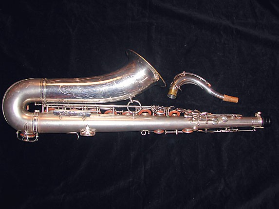Selmer Matte Silver Super Balanced Action Tenor - 38812 - Photo # 4