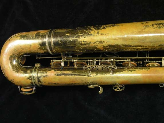 "Selmer Lacquer Mark VI ""Low A"" Baritone - 81129 - Photo # 5"
