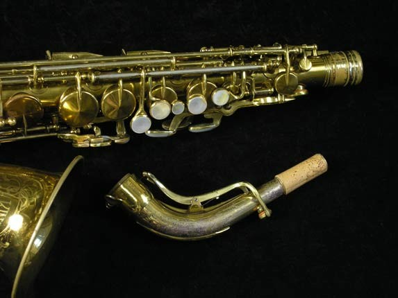 King Lacquer-Sterling Neck Super 20 Alto - 303393 - Photo # 3