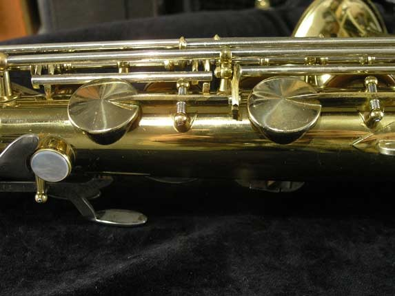 King Lacquer-Sterling Neck Super 20 Tenor - 433254 - Photo # 10