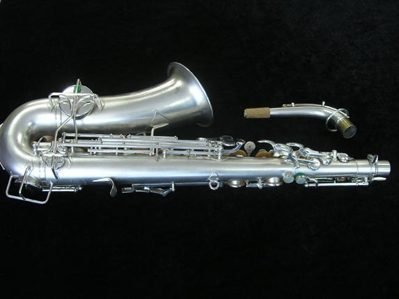 Buescher Silver Plate New Aristocrat Alto - 263859 - Photo # 4