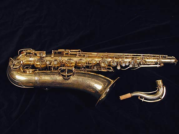 "Conn ""Portrait"" Gold Plate ""Baby"" Tenor - 208283 - Photo # 1"