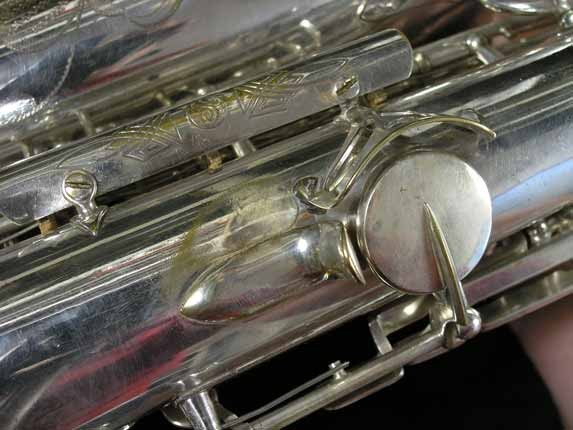 Selmer Silver Super Balanced Action Alto - 45550 - Photo # 18