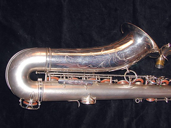 Selmer Matte Silver Super Balanced Action Tenor - 38812 - Photo # 5