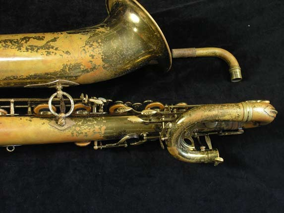 "Selmer Lacquer Mark VI ""Low A"" Baritone - 81129 - Photo # 6"