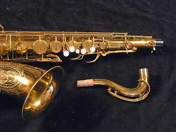 "Buescher Lacquer Aristocrat ""Big B"" Tenor - 305859 - Photo # 4"