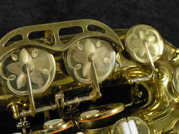 King Lacquer-Sterling Neck Super 20 Alto - 283230 - Photo # 18