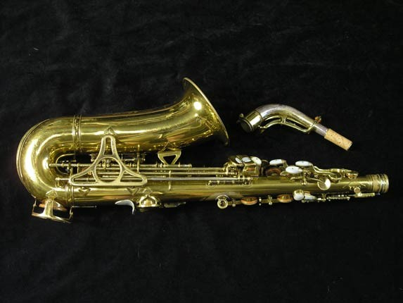 King Lacquer-Sterling Neck Super 20 Alto - 303393 - Photo # 4