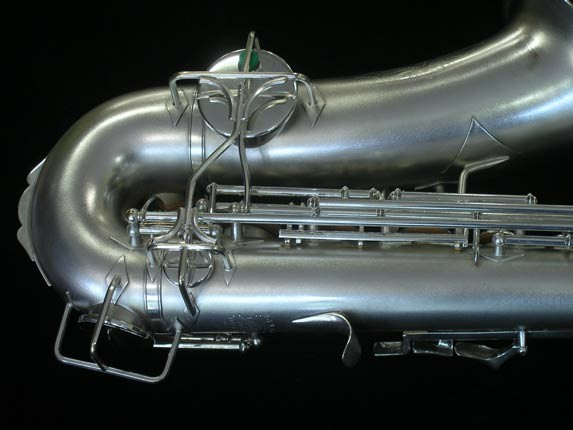 Buescher Silver Plate New Aristocrat Alto - 263859 - Photo # 5