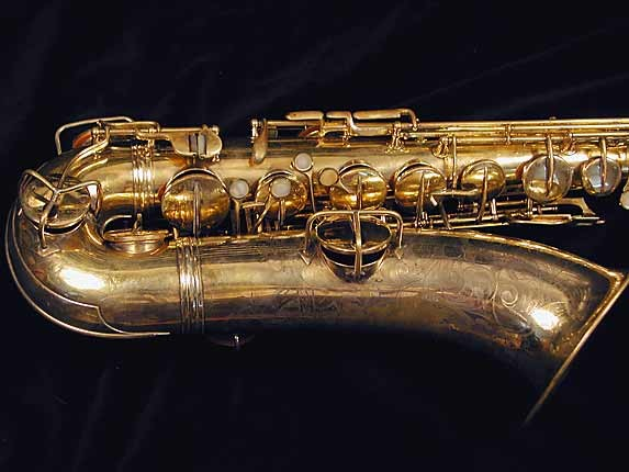 "Conn ""Portrait"" Gold Plate ""Baby"" Tenor - 208283 - Photo # 2"