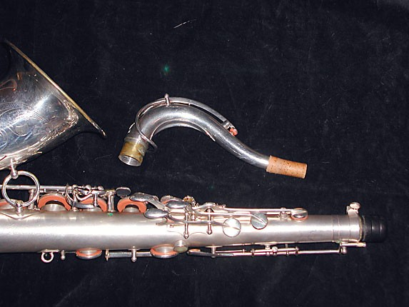 Selmer Matte Silver Super Balanced Action Tenor - 38812 - Photo # 6