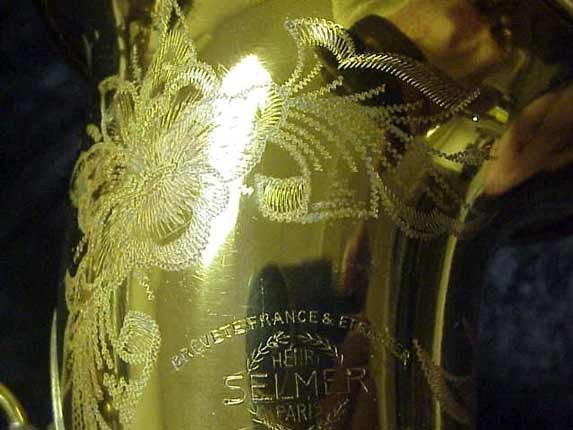 Selmer Lacquer Super Balanced Action Tenor - 39981 - Photo # 16