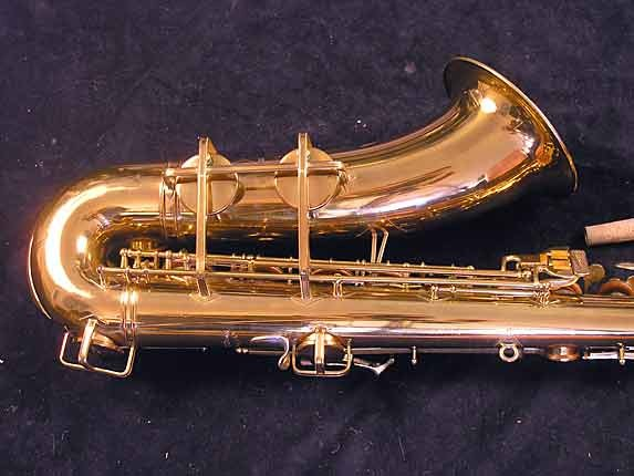 "Buescher Lacquer Aristocrat ""Big B"" Tenor - 305859 - Photo # 5"