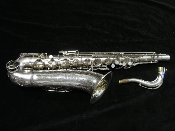 "Martin Silver Plate ""The Martin"" Tenor - 176595 - Photo # 1"