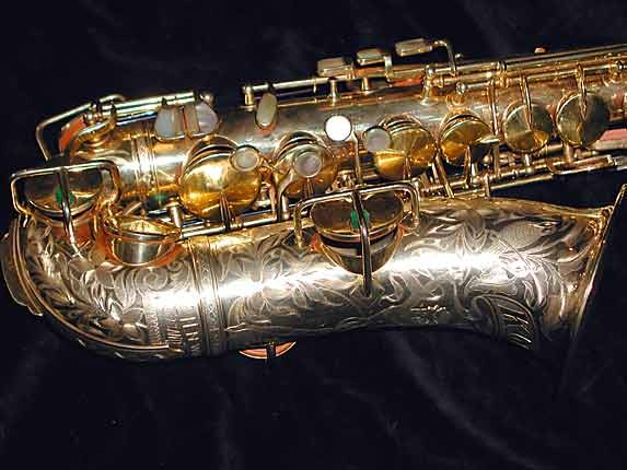 "King Gold Plate H.N. White ""Artist"" Alto - 99103 - Photo # 2"