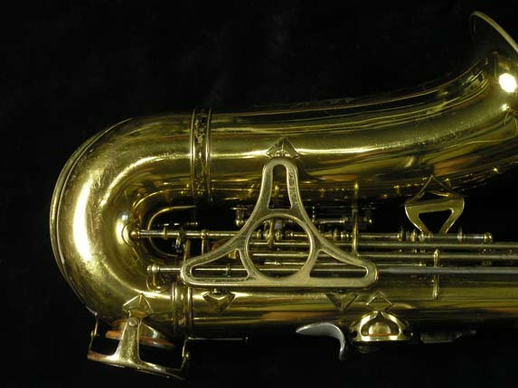 King Lacquer-Sterling Neck Super 20 Alto - 303393 - Photo # 5