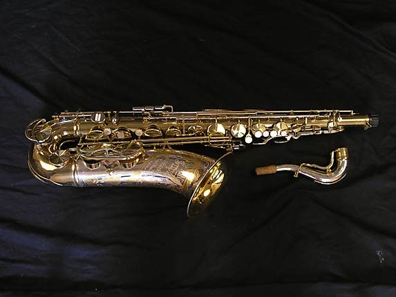 King Silver-Sonic Gold Inlay Super 20 Tenor - 385231 - Photo # 1