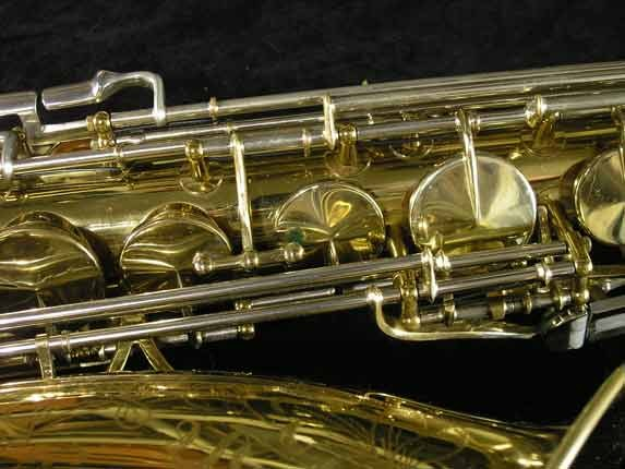 King Lacquer-Sterling Neck Super 20 Tenor - 433254 - Photo # 12
