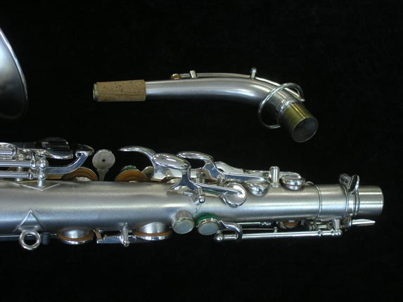 Buescher Silver Plate New Aristocrat Alto - 263859 - Photo # 6