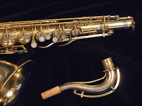 "Conn ""Portrait"" Gold Plate ""Baby"" Tenor - 208283 - Photo # 3"