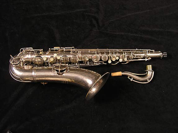 Conn Nickel Plate Chu Berry Tenor - 192220 - Photo # 1