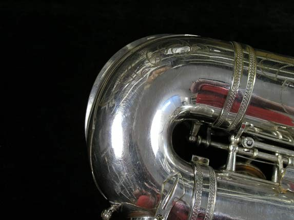 Selmer Silver Super Balanced Action Alto - 45550 - Photo # 20