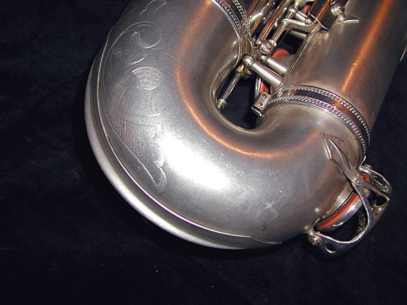 Selmer Matte Silver Super Balanced Action Tenor - 38812 - Photo # 7
