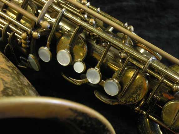 "Selmer Lacquer Mark VI ""Low A"" Baritone - 81129 - Photo # 8"