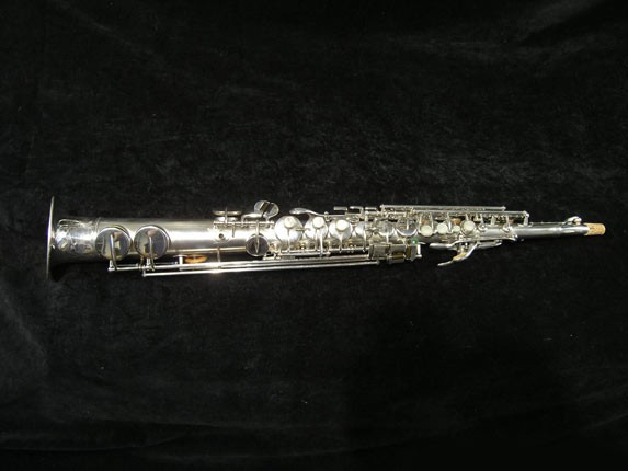 Buescher Silver Tipped Bell True Tone Soprano - 234860 - Photo # 1