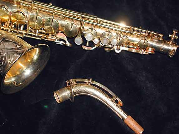 "King Gold Plate H.N. White ""Artist"" Alto - 99103 - Photo # 3"