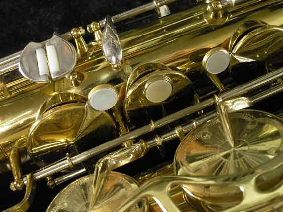 King Lacquer-Sterling Neck Super 20 Tenor - 433254 - Photo # 13