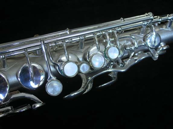 Buescher Silver Plate New Aristocrat Alto - 263859 - Photo # 7