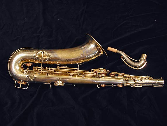 "Conn ""Portrait"" Gold Plate ""Baby"" Tenor - 208283 - Photo # 4"