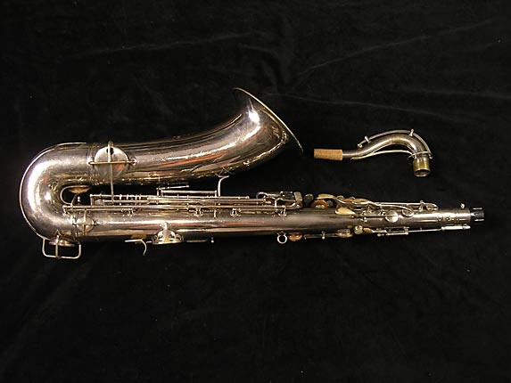 Conn Nickel Plate Chu Berry Tenor - 192220 - Photo # 2