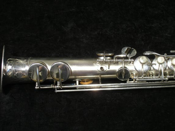 Buescher Silver Tipped Bell True Tone Soprano - 234860 - Photo # 2