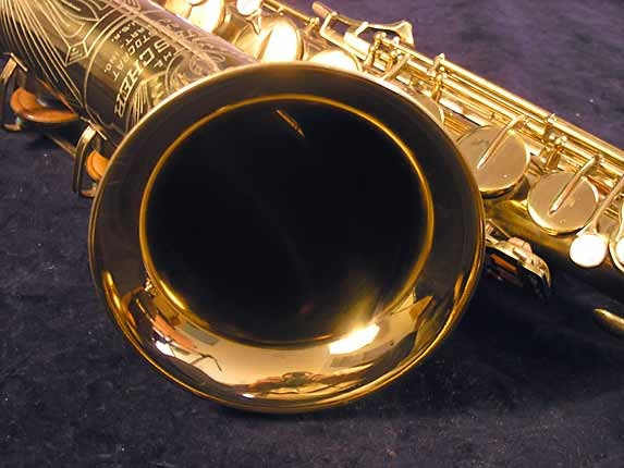 "Buescher Lacquer Aristocrat ""Big B"" Tenor - 305859 - Photo # 7"