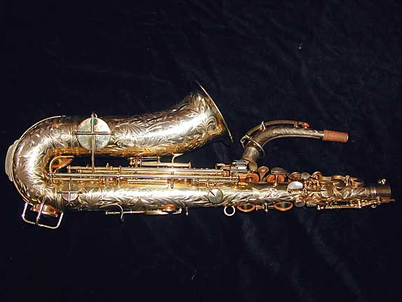 "King Gold Plate H.N. White ""Artist"" Alto - 99103 - Photo # 4"
