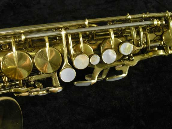 King Lacquer-Sterling Neck Super 20 Alto - 303393 - Photo # 7